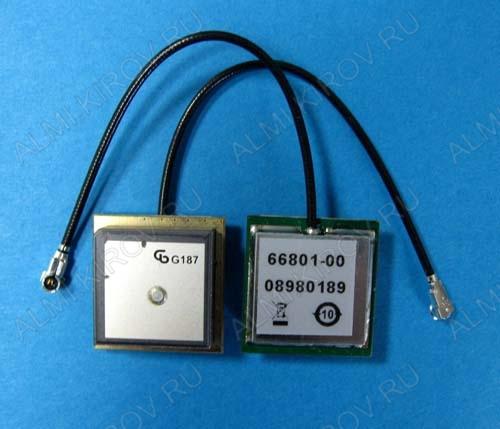 Антенна ANT GPS 66801-00 HFL 8CM активная GPS-антенна внутрь корпуса,коэффициент усиления 24 dB,1575Mгц;
