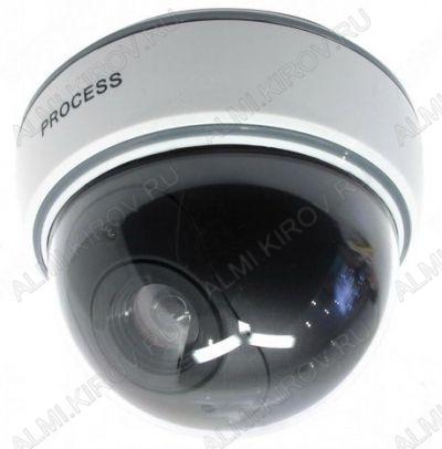 Муляж видеокамеры OT-VNP11_(AB-1500B); купольный, белый,