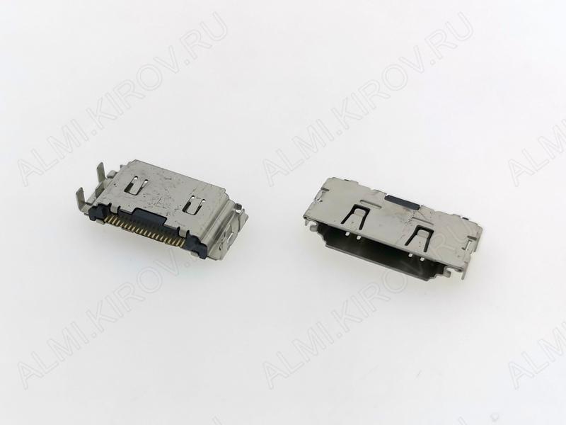 Разъем гнездо для Samsung G400/i550/i500/S5200/S3600/C3010/i560/i740/i7110/C3011