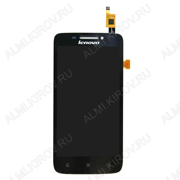 Дисплей для Lenovo A1000 + тачскрин черный