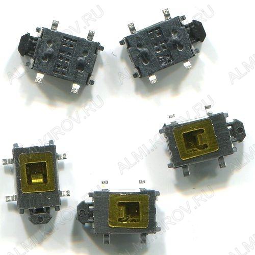 Кнопка такт.HY-1184E (6*4мм,шток1,2мм, SMD)