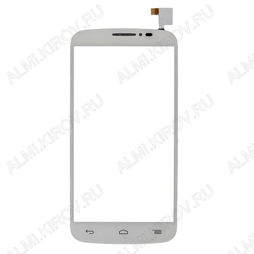 ТачСкрин для Alcatel OT-7041D/POP C7 (белый)