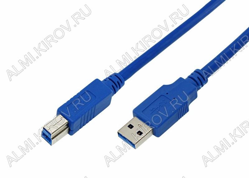 Шнур USB A шт/USB B шт 0.75м (USB 3.0)