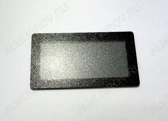 Радиоконструктор Панель лицевая чёрная FS45x25B-37x17M (45х25мм, окно 37х17мм) (Распродажа) Вольтметры SVH0001, амперметры SAH0012, термометры STH0014, индикаторы E30561, FYT5631