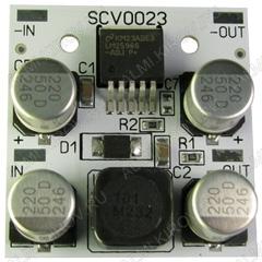 Радиоконструктор Преобразователь DC/DC в 12В(3А) из 14...40В (SCV0023-12V-3A) Понижающий. Тепловая защита, и ограничение по выходному току