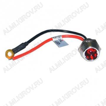 Лампа индикаторная R9-34L красная с кабелем