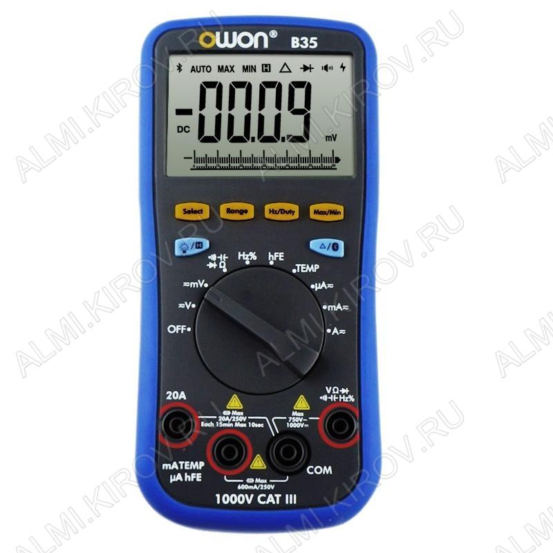 Мультиметр B35 c Bluetooth (гарантия 6 месяцев)