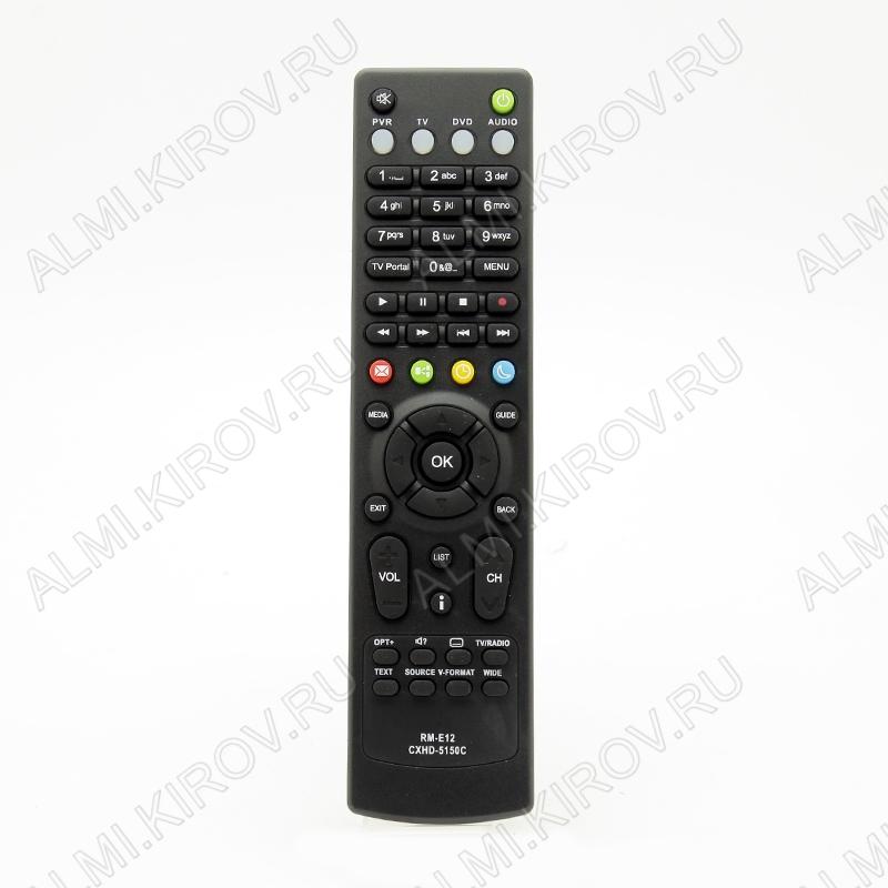 ПДУ для ДОМ.РУ RM-E12 (для кабельного ресивера)