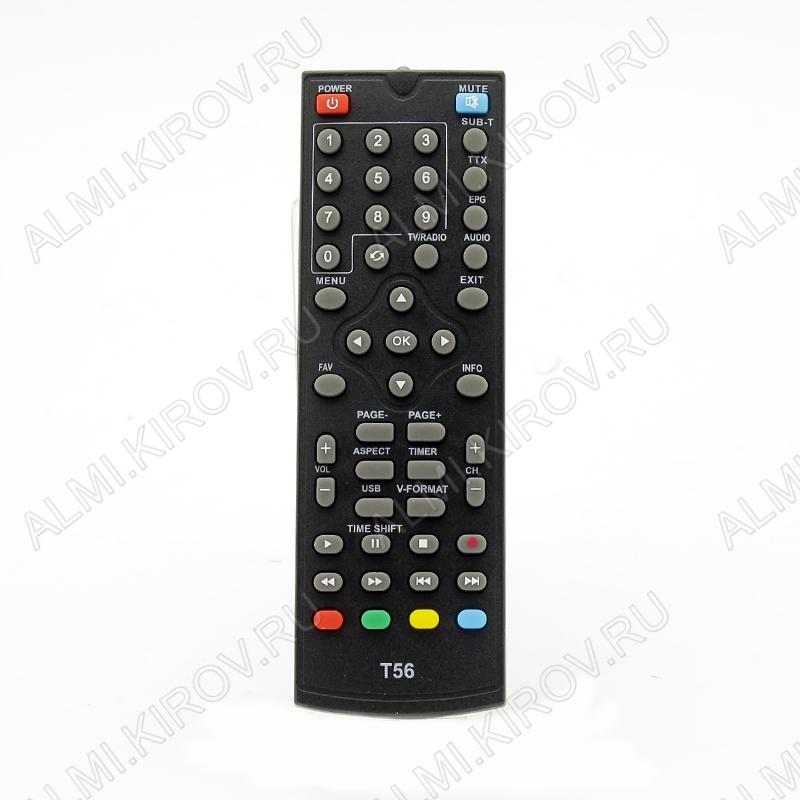 ПДУ для WORLD VISION T36/T56/TESLER DSR-590I  DVB-T2