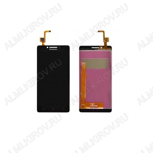 Дисплей для Lenovo A6010/ A6010Plus + тачскрин черный