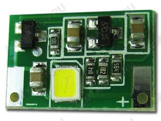 Радиоконструктор Стробоскоп светодиодный белый SHL0035W-0.9 (0.9сек, мини 10*15мм) Напряжение питания, номинальное (фильтрованное) +5 В;Диапазон напряжений +4 В..+6 В; Периодичность вспышек 0,9 сек + 20% Длительность 0,02 сек