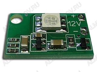 Радиоконструктор Стробоскоп светодиодный голубой SHL0015B-1.7 (1.7сек) (Распродажа) Напряжение питания, номинальное (фильтрованное) +12 В;Диапазон напряжений +11 В..+18 В; Периодичность вспышек 1,7 сек + 20% ; размеры 22.5*14.5мм;
