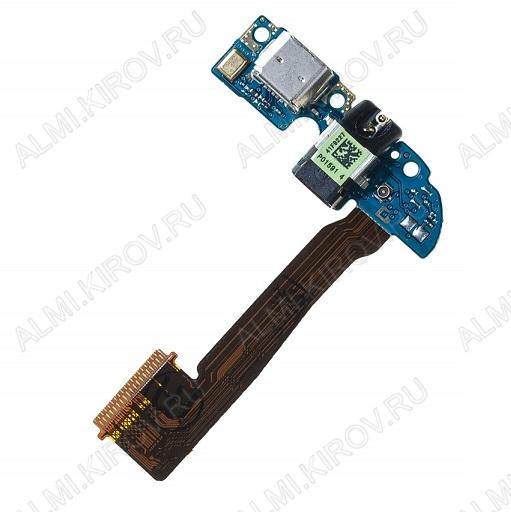 Шлейф для HTC ONE M8 Dual + разъем зарядки + микрофон + разъем гарнитуры