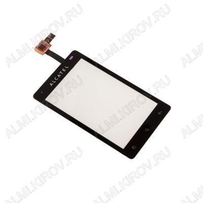 ТачСкрин для  Alcatel OT918D черный