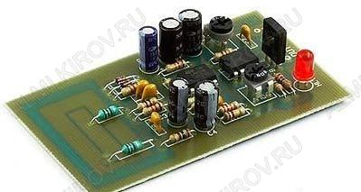 Радиоконструктор Датчик движения RA220 Реагирует на перемещение человека в радиусе метра и предназначен для автоматического включения света , открывания дверей, охранной сигнализации.