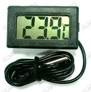 Термометр цифровой CA00005 врезной (гарантия 2 недели) НЕ ПОСТАВЛЯЕТСЯ!!! Измерение температуры от -50 до +70°С; выносной датчик 1.0м Питание от 1xG13(в комплекте)