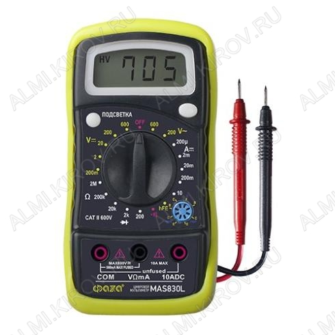 Мультиметр MAS-830L
