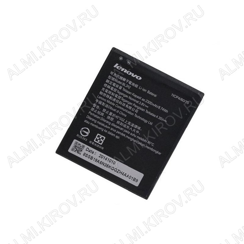 АКБ для Lenovo A6000/ A6010/ K3/ A8/ A3580 BL242