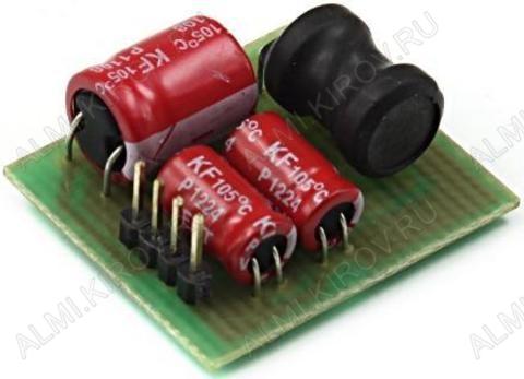 Радиоконструктор Инвертирующий DC/DC преобразователь 5...30В в -3:-15В (0,5А) RP236M С изменением полярности выходного напряжения