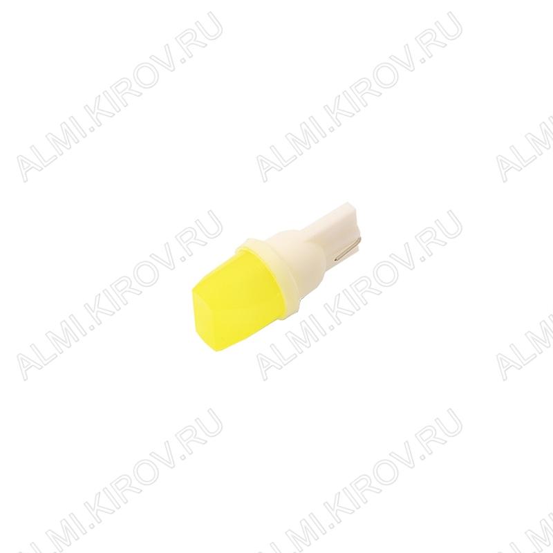 Лампа светодиодная (A29)T10-COB-3D 12V (LED070) (цвет белый) автомобильная