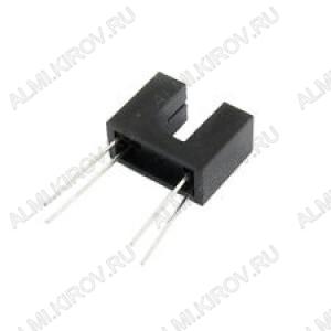 Фотопрерыватель ITR9606, Реагирует на нахождение препятствия Обратный ток (при Uобр=5В): 10 мкА; Обратное напряжение (макс.): 5 В; Прямой ток (макс.): 50 мА