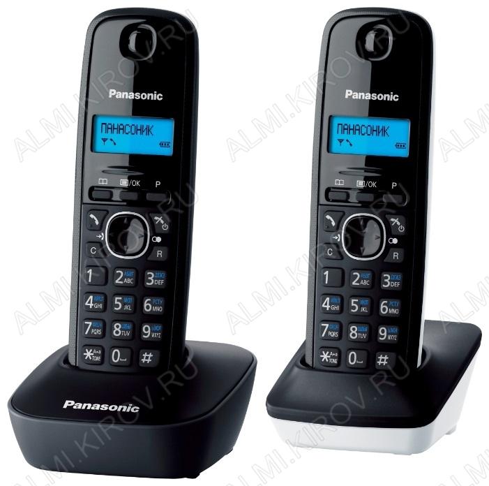 Радиотелефон KX-TG1612RU1 серый/белый