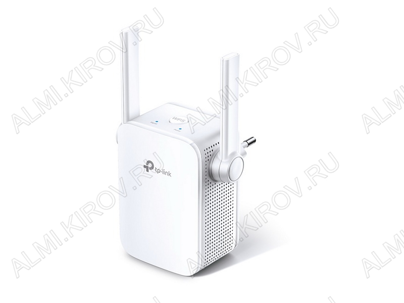 Wi-Fi Усилитель сигнала TL-WA855RE Скорость передачи данных до 300мБит/с, разъем RJ45, стандарт беспроводной связи - 802.11b/n/g, частота - 2.4 ГГц
