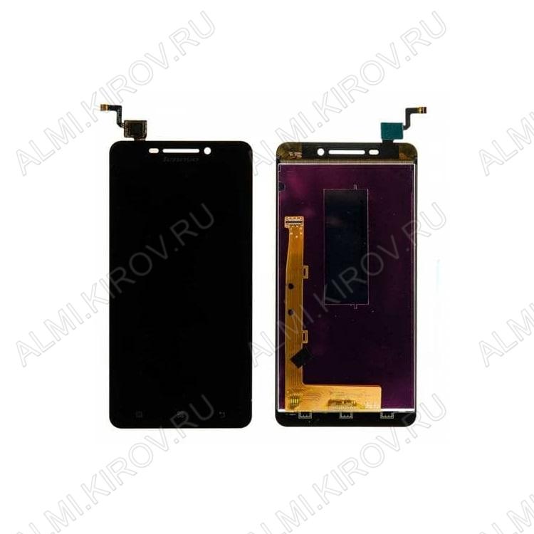 Дисплей для Lenovo A5000 + тачскрин черный