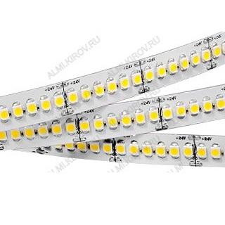 Лента светодиодная RT6-3528-240 LUX (017430)  белый холодный 24V 19.2W/m 3528*240