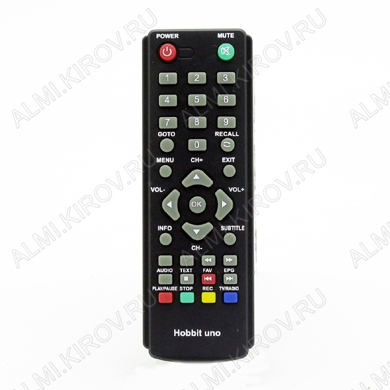 ПДУ для DIVISAT (для ресивера DVS-HOBBIT UNO) DVB-T2