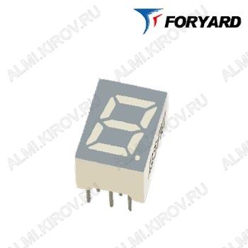 Индикатор FYS-10012BS-21   LED 1DIG,1',R,AN;15M