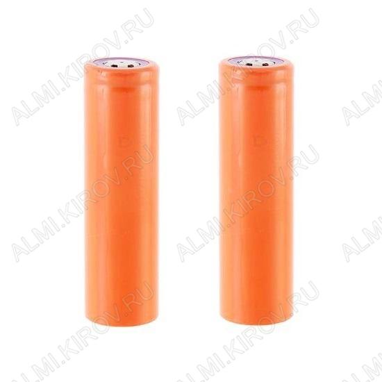 Аккумулятор 18650 (3.7V, 5200/2300mAh) LiIo; 18.2*65.5мм                                                                                                               (цена за 1 аккумулятор
