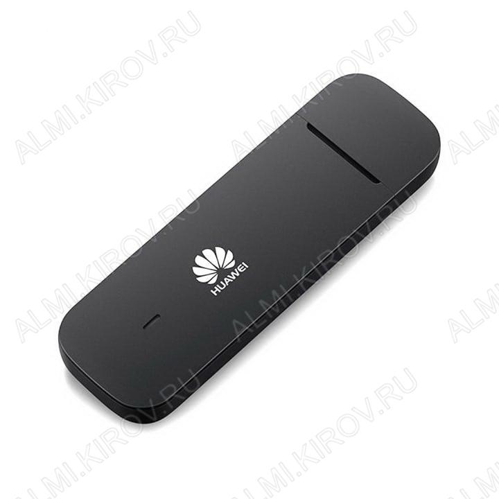 Модем 4G HUAWEI E3372 3G/4G LTE универсальный под сим-карты любых операторов, прошивка HiLink, 2 разъема CRC9, слот для карты MicroSD, скорость до 150 Мбит/с