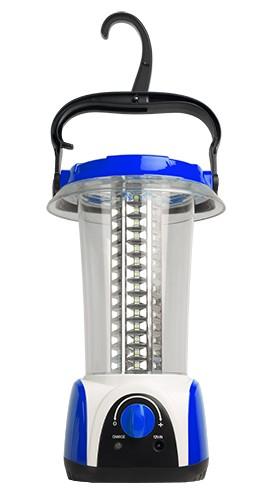 Фонарь кемпинг AccuF5-L84-bu аккумуляторный 84 LED; встроенный аккумулятор 4V 1.6Ah; питание от 220В; световой поток 450Лм; время работы до 20ч