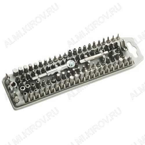 Набор бит с держателем, 100 предметов SD-2310