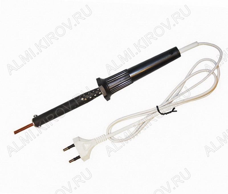 Паяльник  (220V,100W) пластиковая ручка ЭПСН-02-100/220 прямое жало