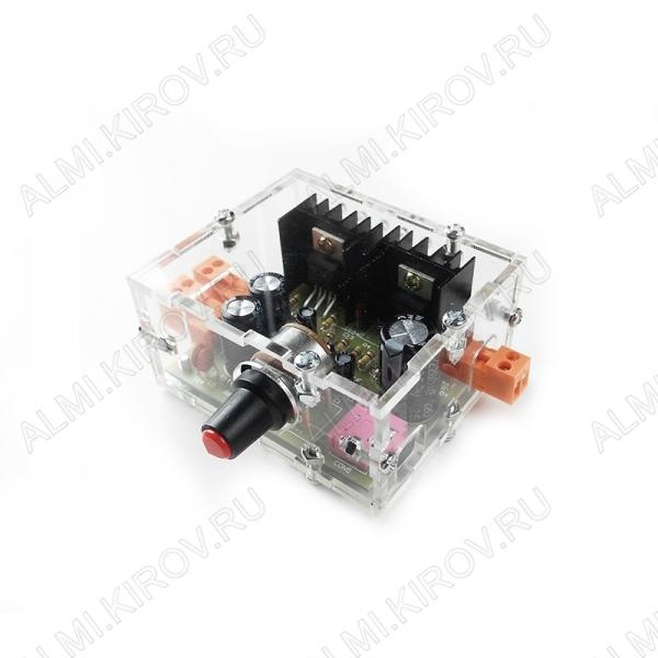 Радиоконструктор Усилитель 1х18Вт NM2037Sbox (в корпусе) УНЧ класса Hi-Fi на TDA2030A. Эта ИМС представляет собой УНЧ класса АВ для получения высококачественного выходного сигнала средней мощности