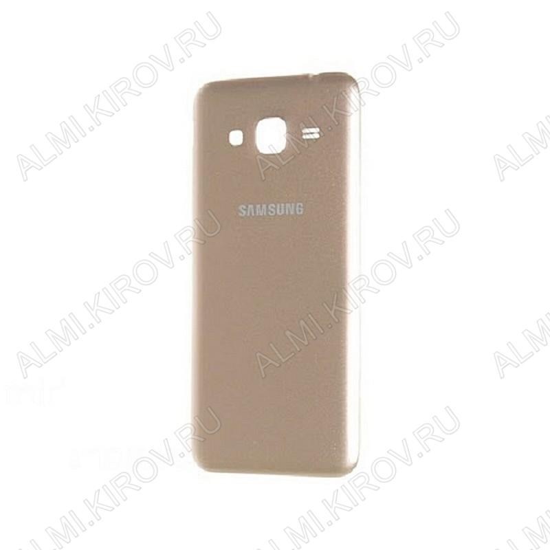Задняя крышка для Samsung J320 Galaxy J3 (2016) (золото)