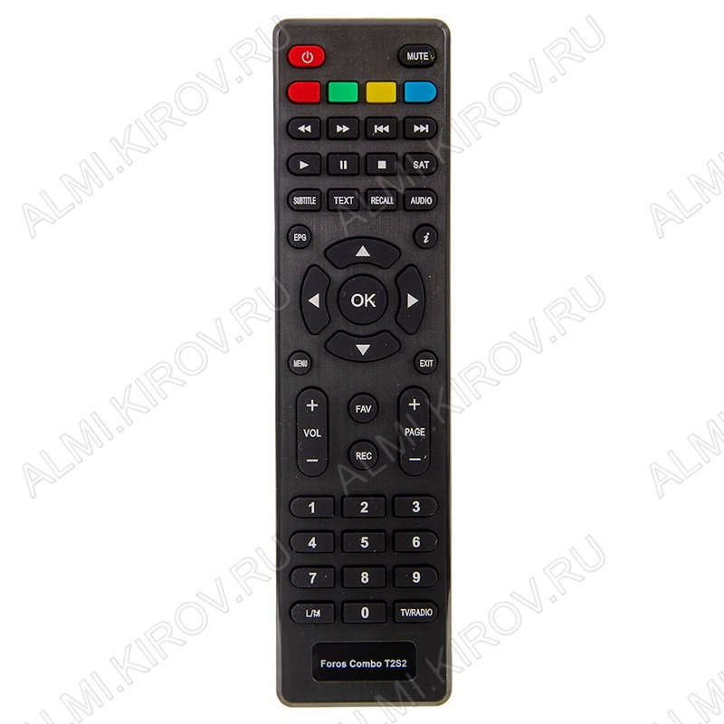 ПДУ для WORLD VISION FOROS COMBO T2/S2 DVB-T2