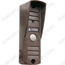 Видеопанель AVP-505(PAL) вызывная коричневая