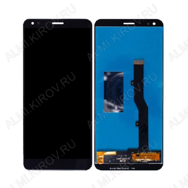 Дисплей для ZTE Blade V9  + тач. черный