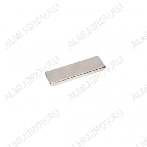 Неодимовый магнит призма 15х5х2 мм Сила сцепления 1.1кг; вес 1.14гр;