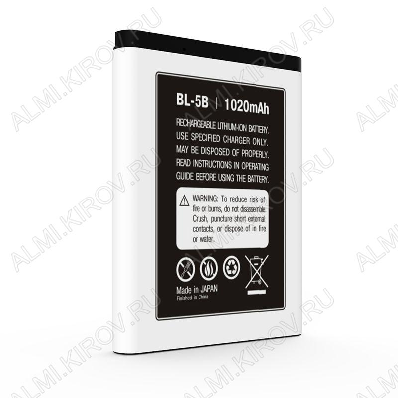 АКБ для Nokia 3220/ 3230/ 5070/ 5140 BL-5B