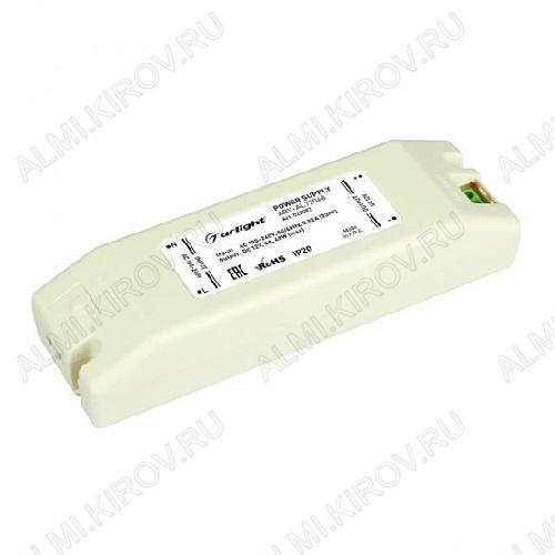 Модуль AC/DC ARV-AL12048 (022093)   12V 4A 48W 160*49*32мм; пластик; клеммы; белый