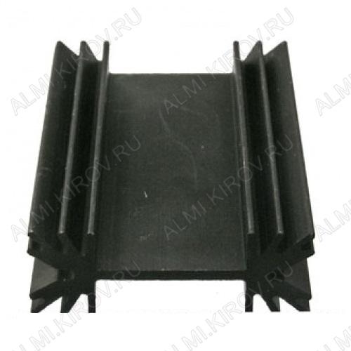 Радиатор BLA024-50 алюминий 34x12x50, ребристый