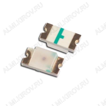 Светодиод FYLS-1206UGC  SMD1206(3216) зелёный 45mcd 140°; 20mA; 570nm; прозрачный