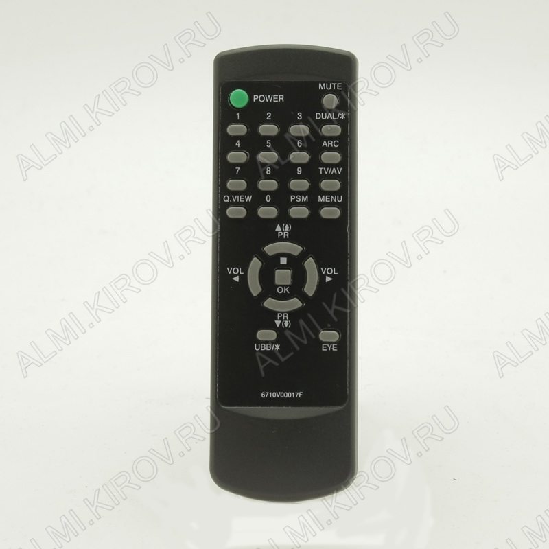 ПДУ для LG/GS 6710V00017F TV