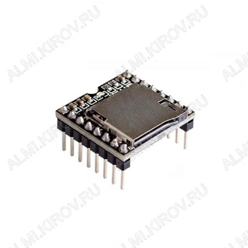 Радиоконструктор Модуль воспроизведения MP3 файлов MP112SD встраиваемый MP3 плеер, позволяет воспроизводить файл формата MP3 с microSD карт с файловой системой FAT16 и FAT32. Оснащен 3 Вт усилителем.