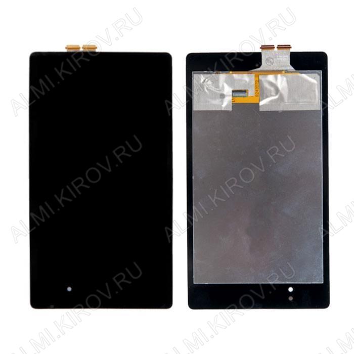 Дисплей для Asus Nexus 7 II+ тачскрин черный
