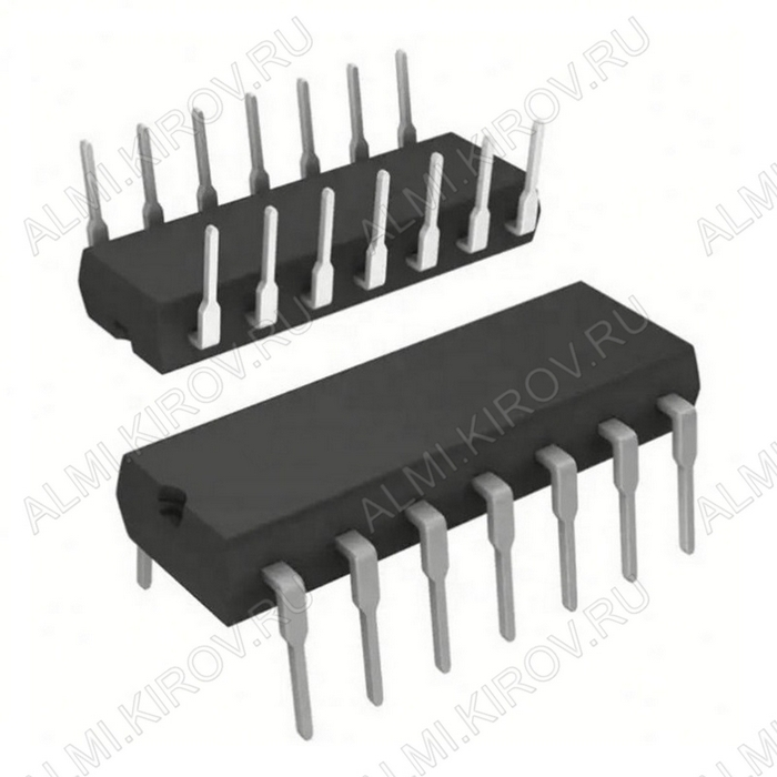 Микросхема DM74H04N